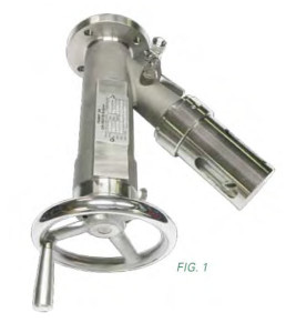 Sample valves from Jaygo Inc