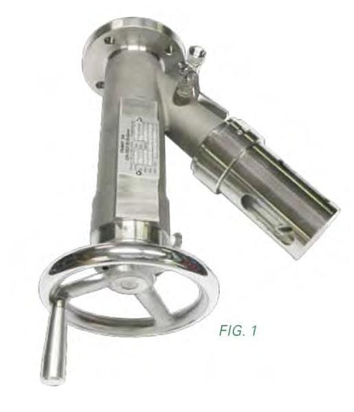 Sample valves from Jaygo Inc