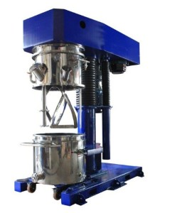 Blade options for a Multi-Shaft Kneader Mixers and Double Planetary Mixers