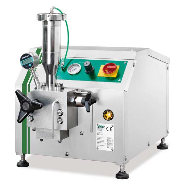 High Pressure Homogenizers & Positive Displacement Piston Pumps